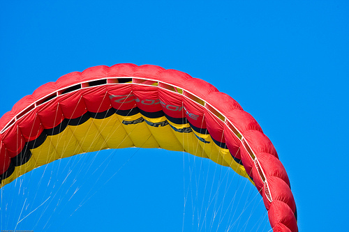 Blogging likely won't give you the parachute you need