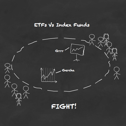 Battle of the trackers - ETFs vs index funds