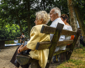 Old age catches up with everyone. And it lasts longer now, too.